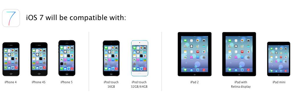 iOS 7 auf dem iPad