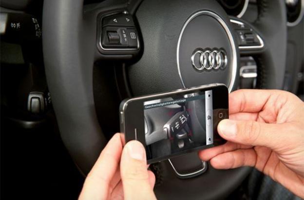 Audi iPhone App