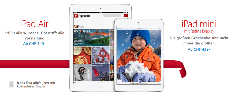 iPad mini Retina Display im Apple Online Store