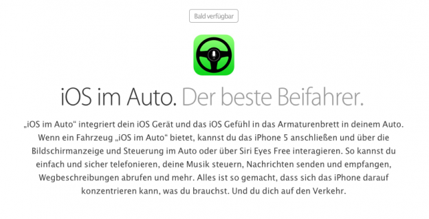 iOS im Auto