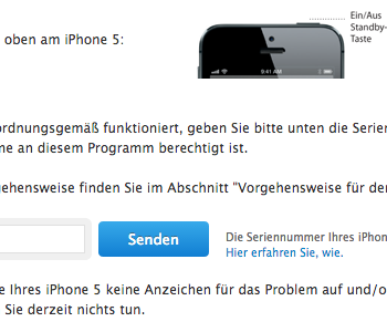 Austausch der iPhone 5-Standby-Taste