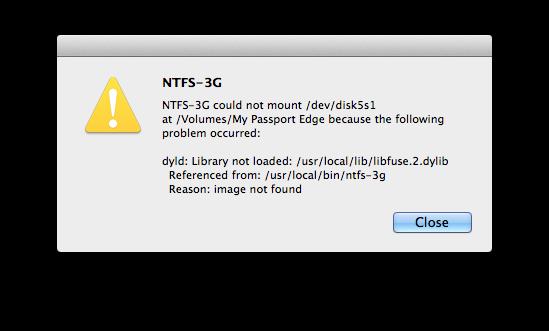 NTFS-Festplatte mit dem Mac lesen und beschreiben.