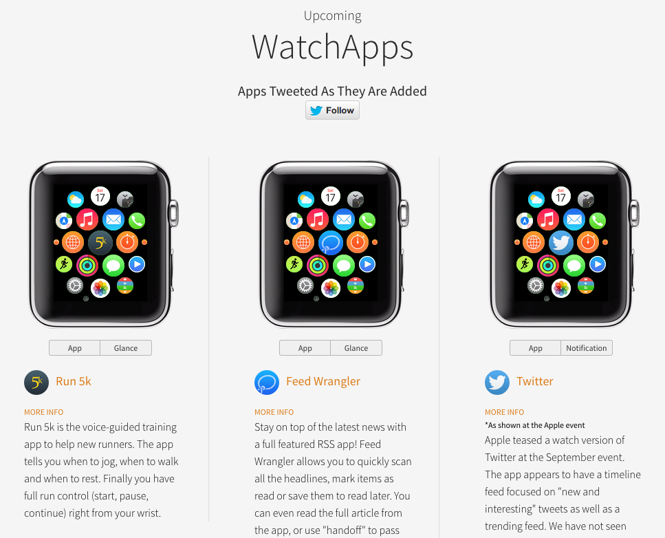 Apple Watch Apps testen.