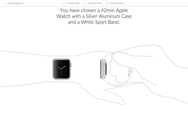 Deine Apple Watch in drei einfachen Schritten zusammenstelle