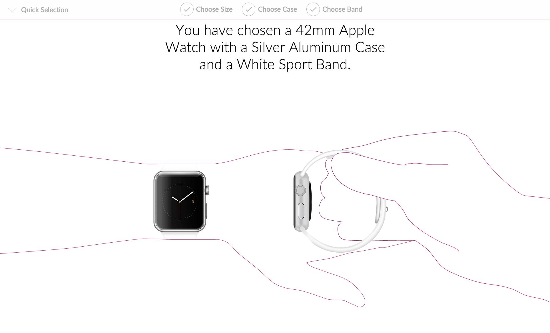 Entscheidungshilfe für die Apple Watch.