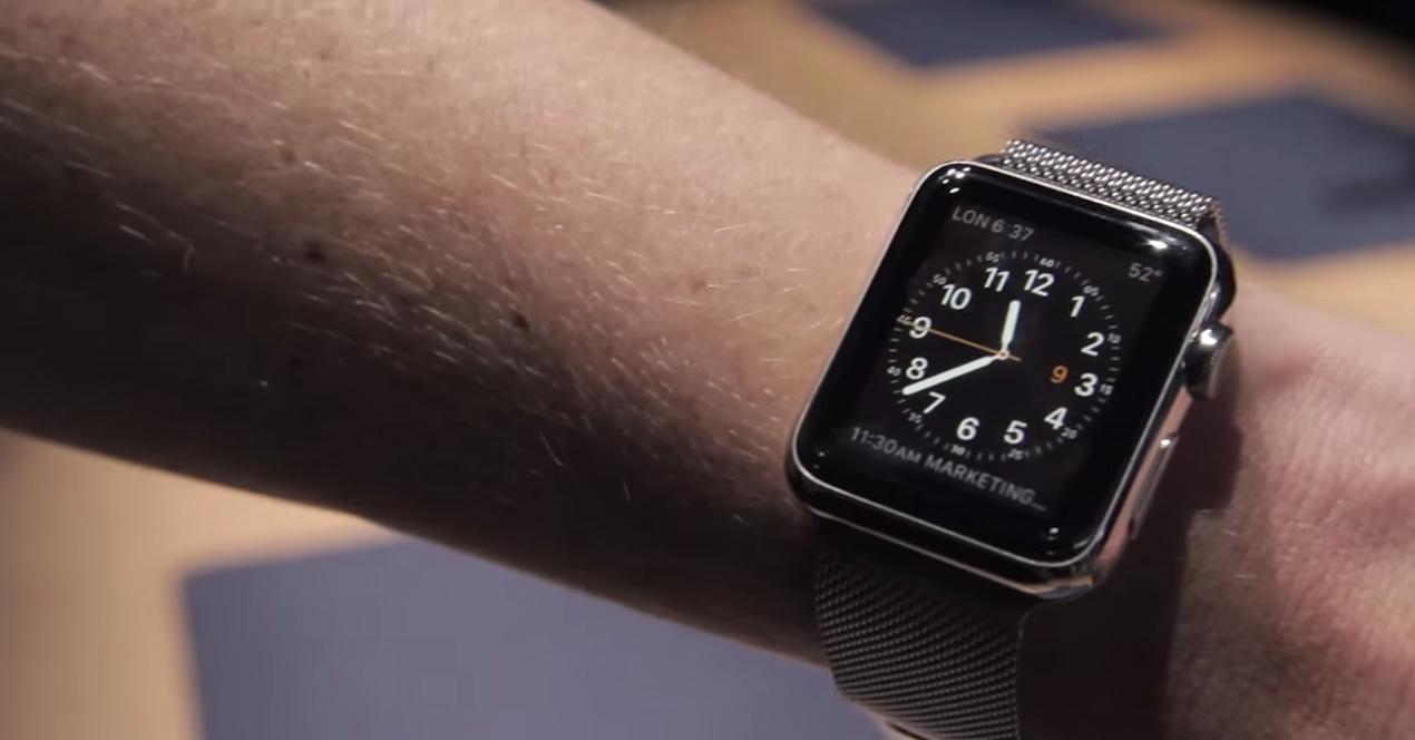 Wenn man die Apple Watch zum ersten mal trägt…