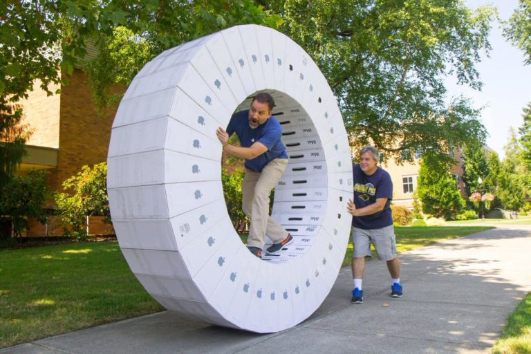 iMac Schachteln Rad