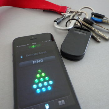 Schlüsselfinden mit Hone