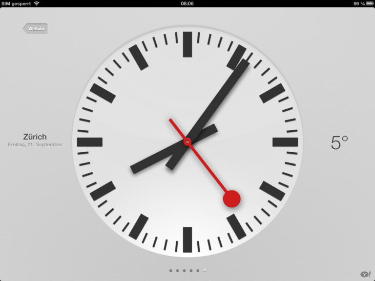 Apple Uhr von der SBB kopiert