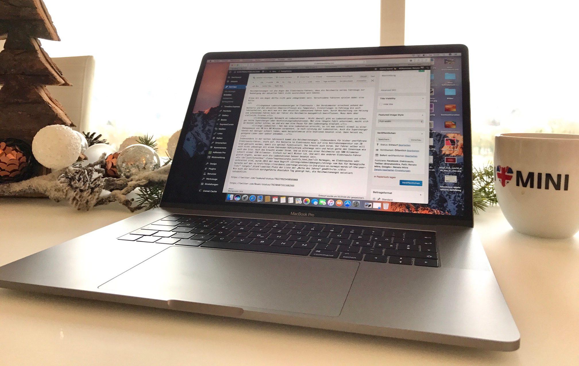 Das neue MacBook Pro mit Touch Bar inspiriert…