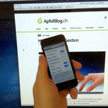 iPhone 5 mit iOS 6 Ortungsdienste