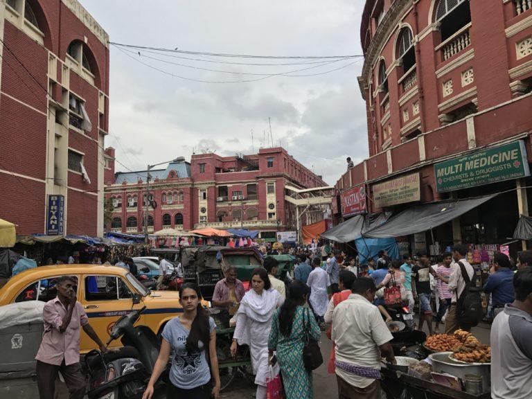 Hog Market in Calcutta, India