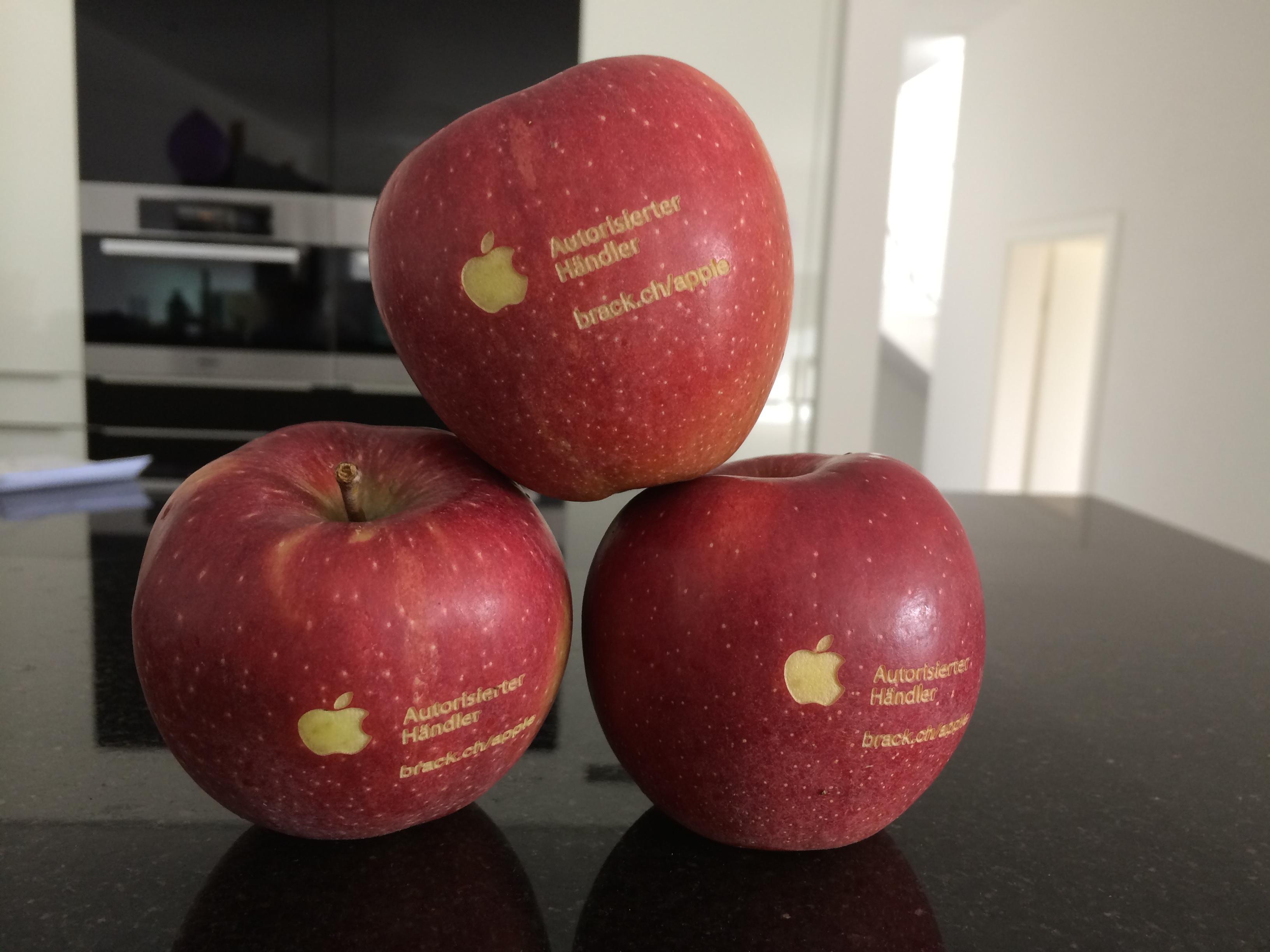 Brack.ch ist nun Autorisierter Händler für Apple.