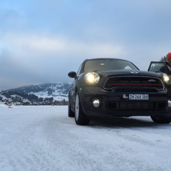 MINI Winterfahrtraining Gstaad 2015