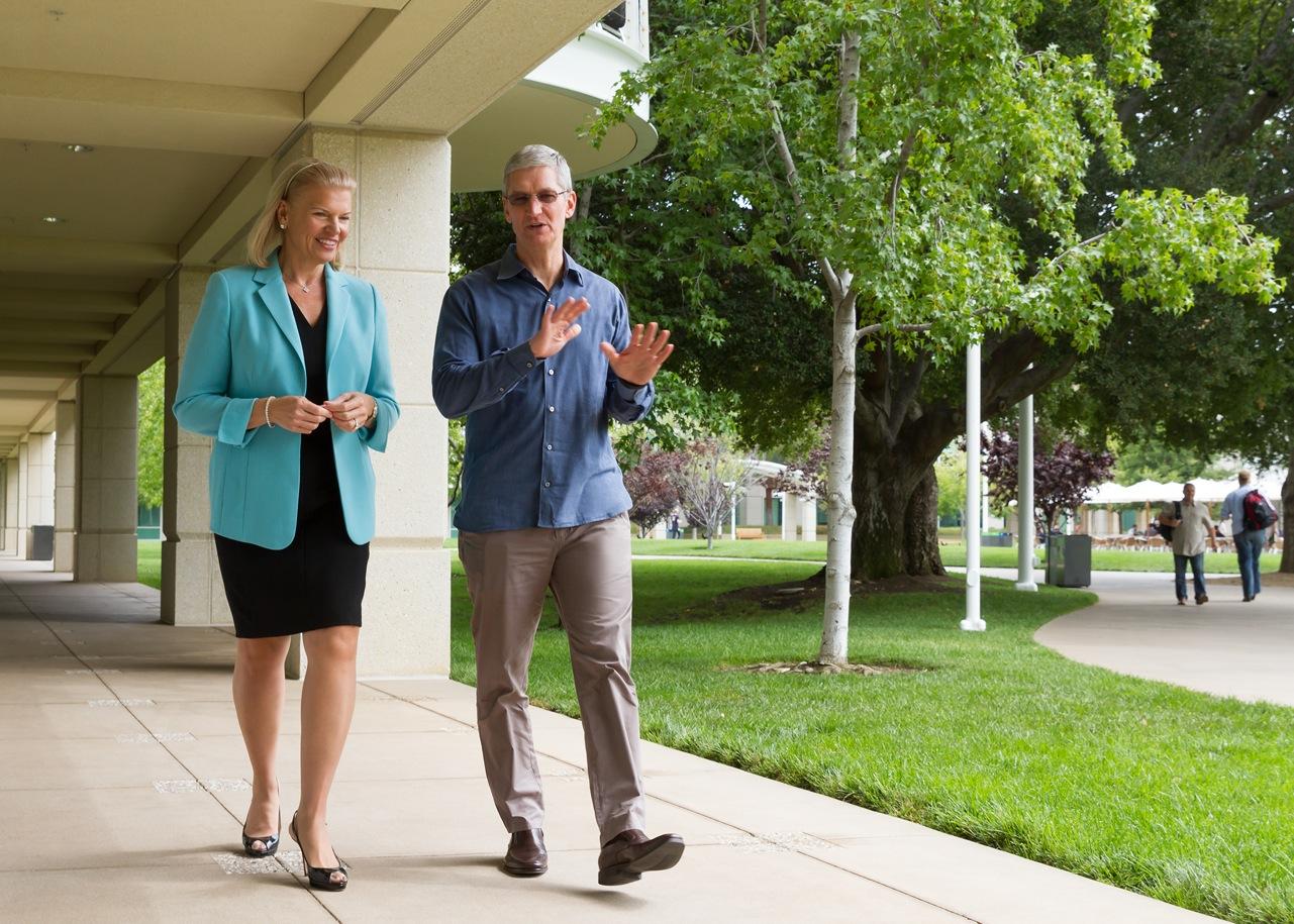 Apple und IBM wollen Enterprise Mobility verändern.