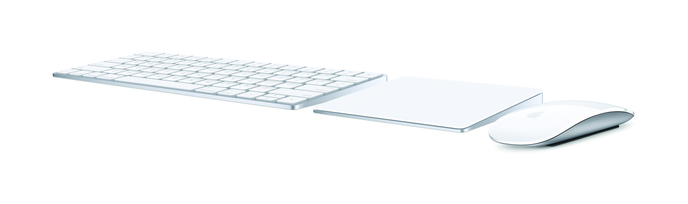 Magic Keyboard, Magic Mouse 2 und Magic Trackpad 2 bringt Force Touch auf den Desktop.