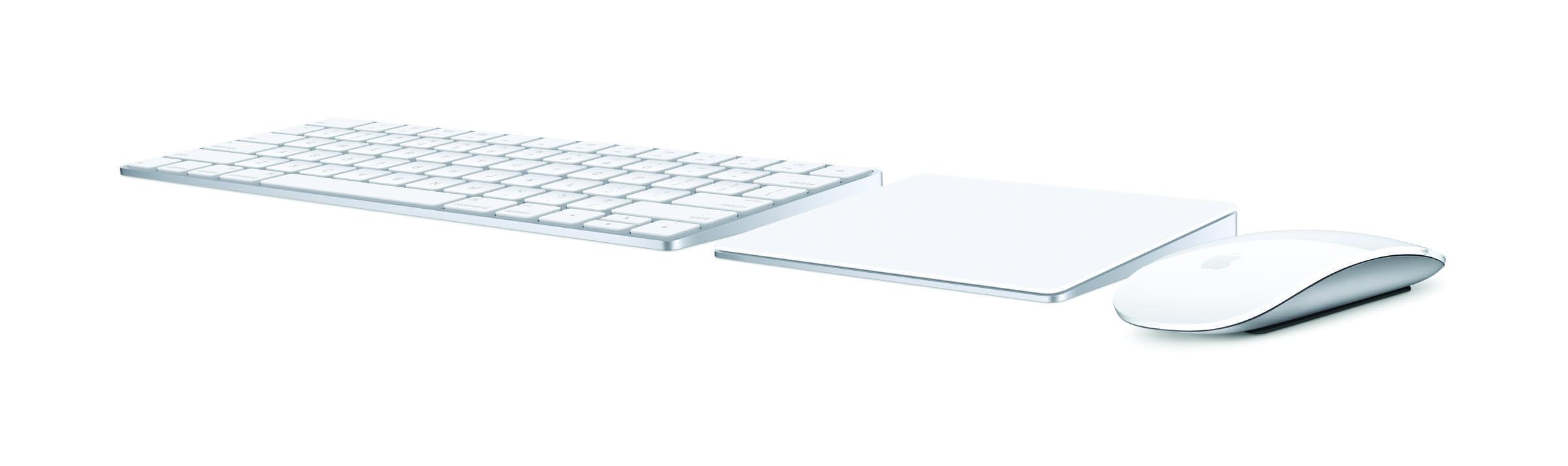 Magic Keyboard, Magic Mouse 2 und Magic Trackpad 2
