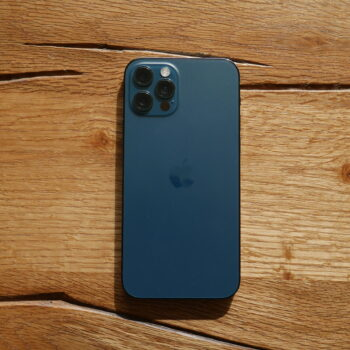 iPhone 12 Pro in Pacific Blue
