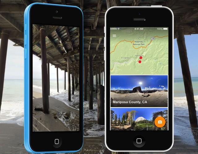 Google Photo Sphere Camera für iOS