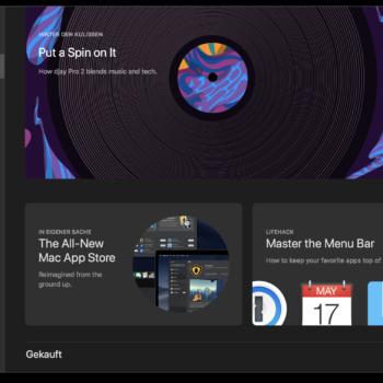 Dark Mode Mac App Store
