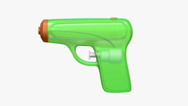 Apple Pistol Emoji