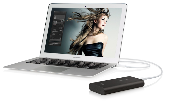 Mehr. Schneller. 120 GB Thunderbolt SSD Drive