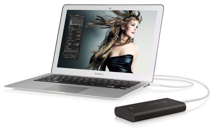 120 GB Thunderbolt SSD Drive