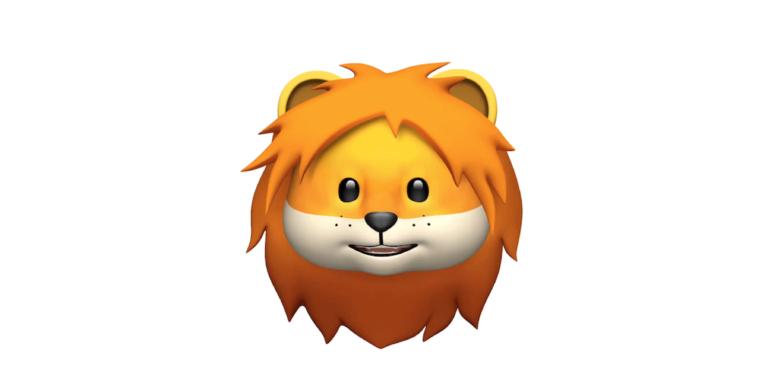Löwen Animoji