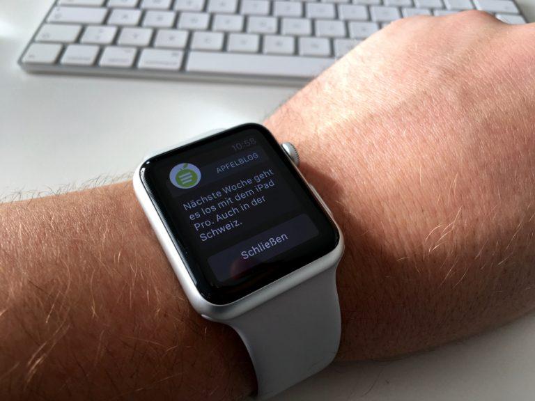 ApfelBlog.ch App auf der Apple Watch