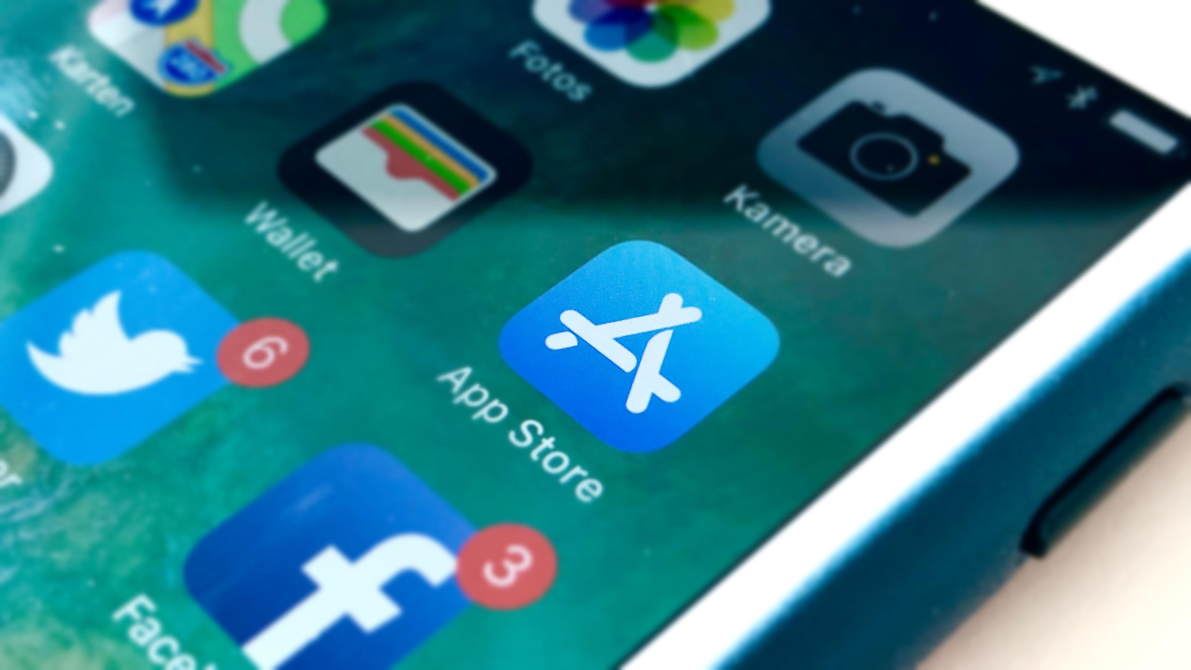 App Store auf iOS