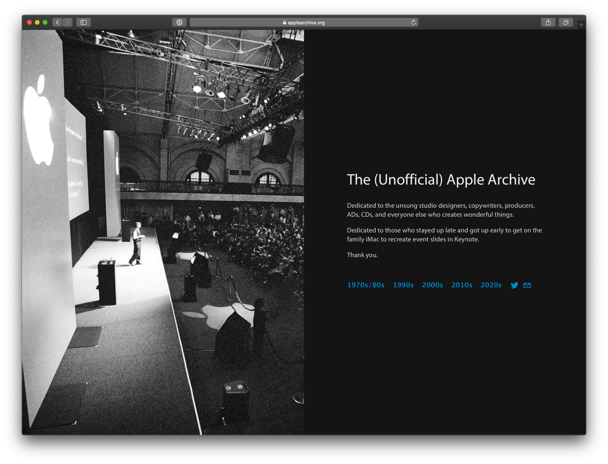 The (unofficial) Apple Archive