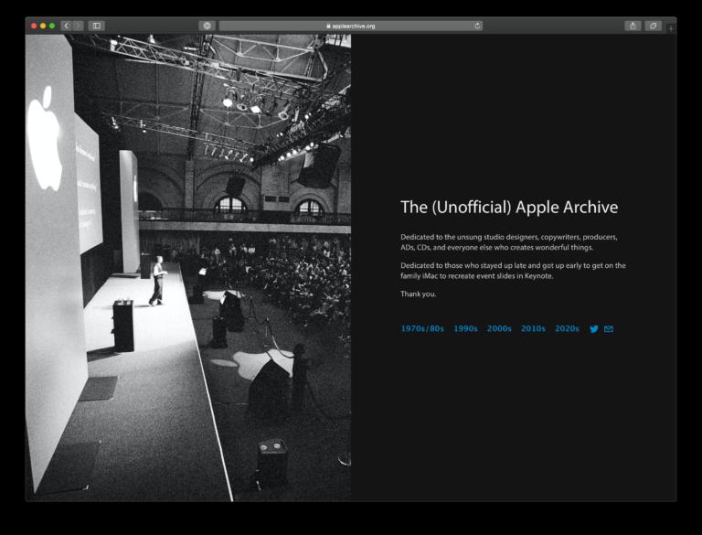 Das Apple Archiv