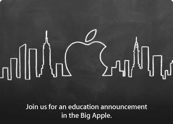 Apple Education Event am 19. Januar 2012