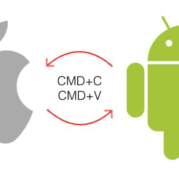 Apple iOS und Google Android kopieren sich gegenseitig.