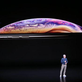 Tim Cook und iPhone X S