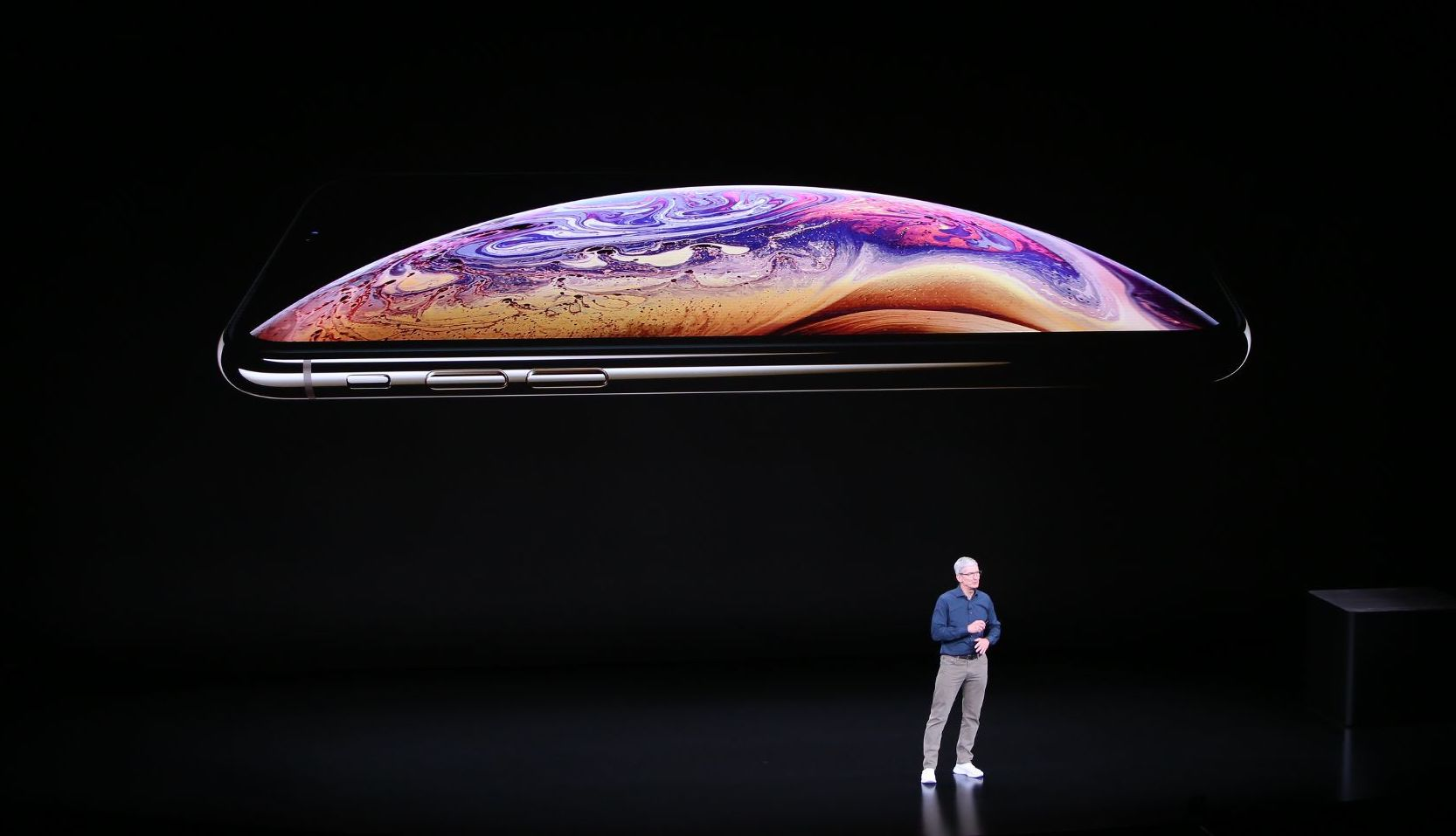 Tim Cook und iPhone X S