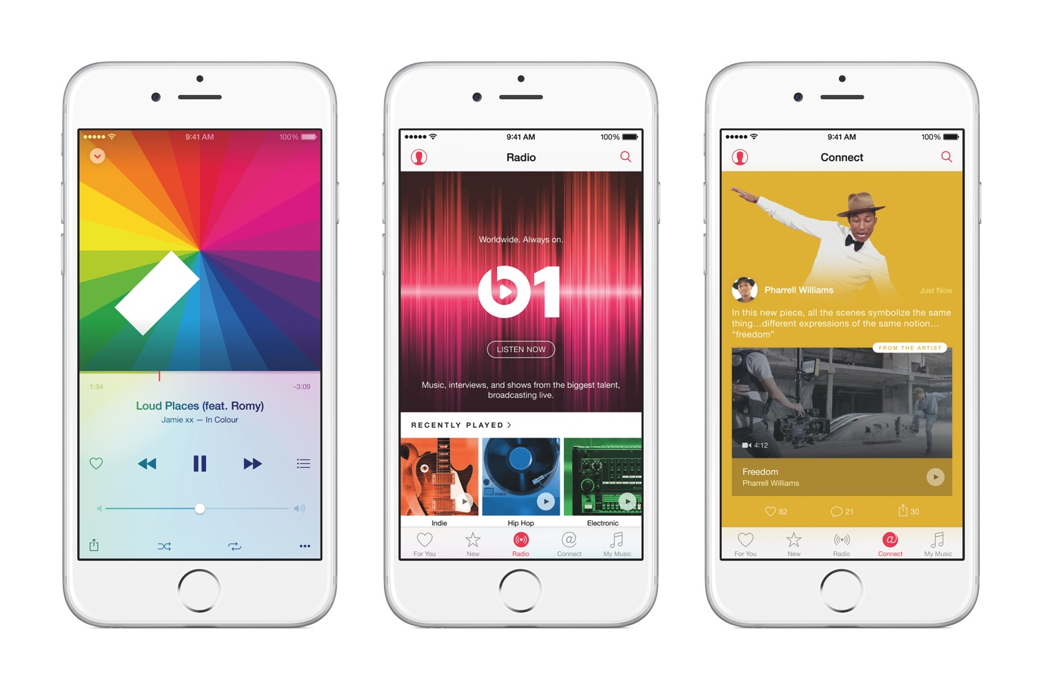 Apple Music und Beats 1.