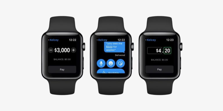 Apple Watch mit Apple Pay Cash