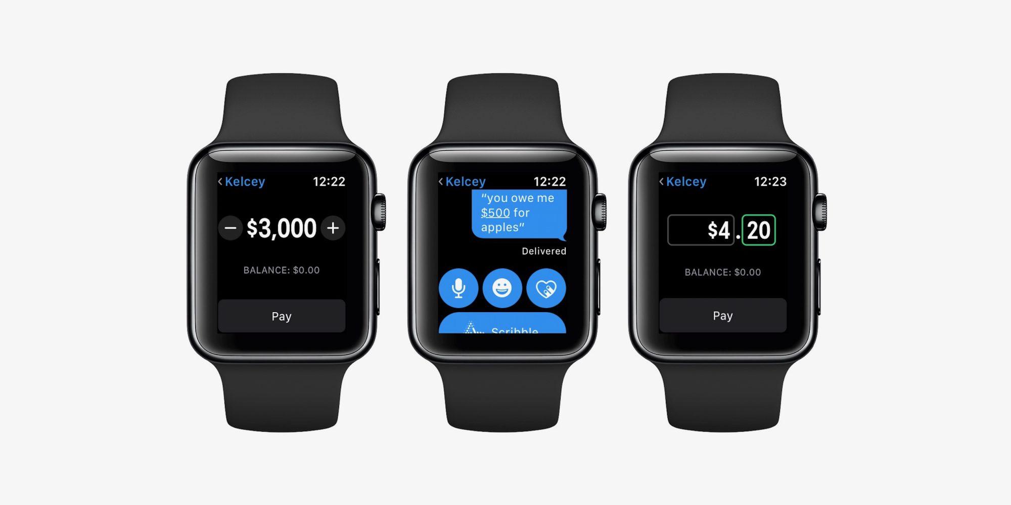 Apple Watch mit Apple Pay Cash