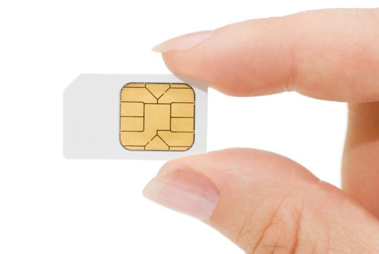 SIM-Karte Apple SIM