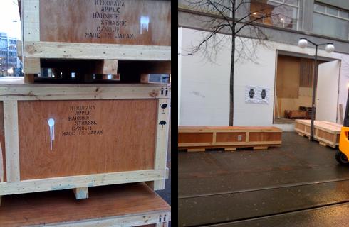 im apple store an der bahnhofstrasse in z rich tut sich was apfelblog. Black Bedroom Furniture Sets. Home Design Ideas