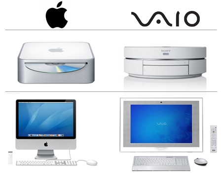 Apple vs. Sony Vaio