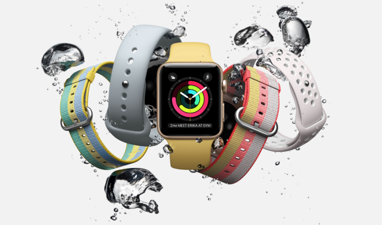Apple Watch - Wasserfest