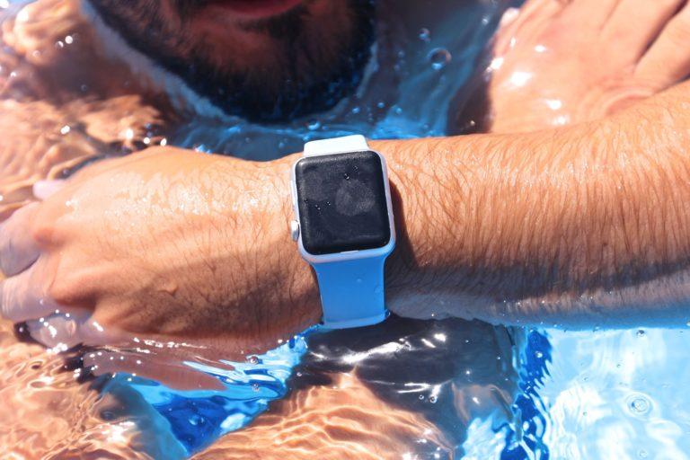 Mit der Apple Watch baden gehen.