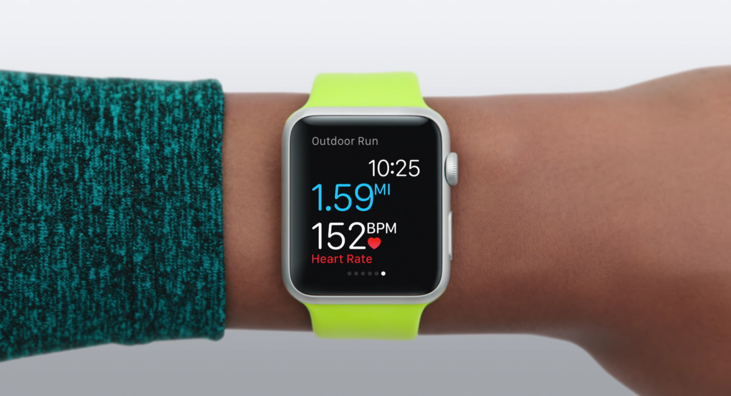 Workout mit der Apple Watch