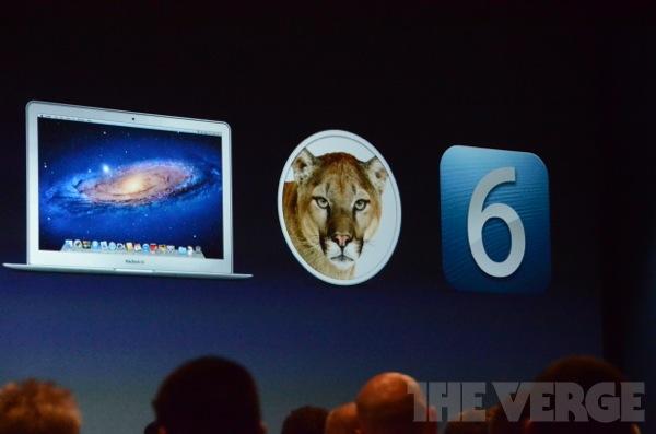 WWDC 2012: MacBook Pro mit Retina Display, iOS 6 und Mountain Lion