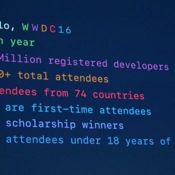 Developers WWDC16