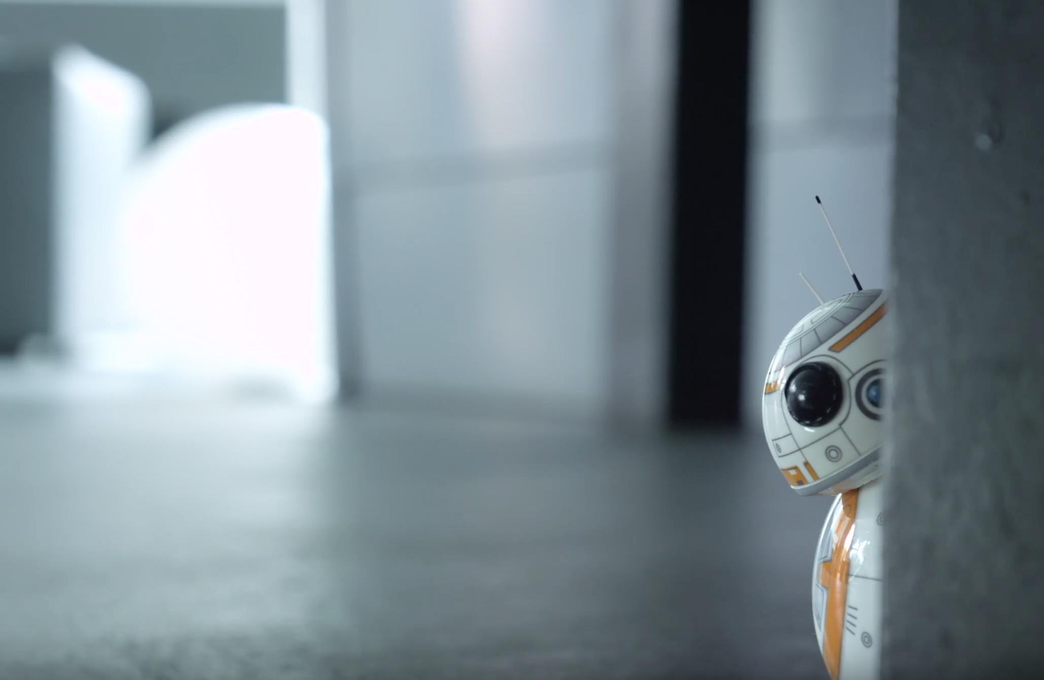 BB-8 – Ein bisschen Star Wars für dich.