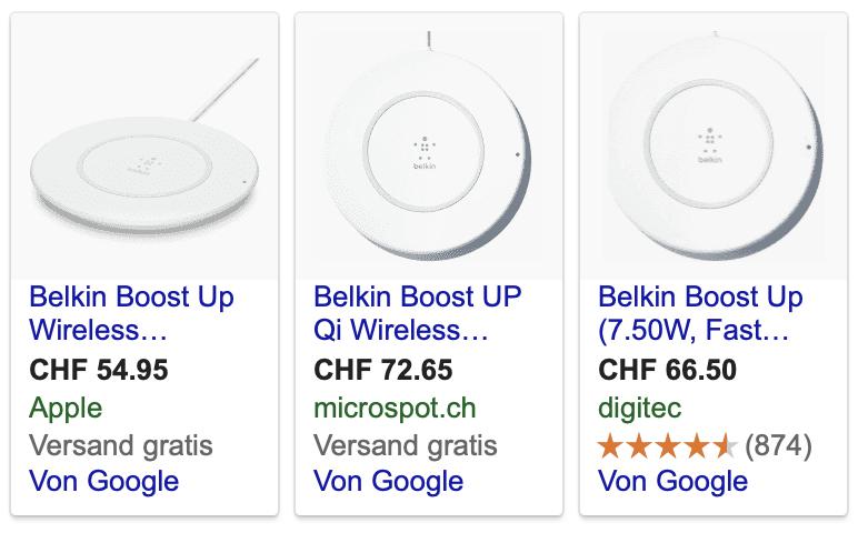 Belkin Boost Up im Shopping-Vergleich