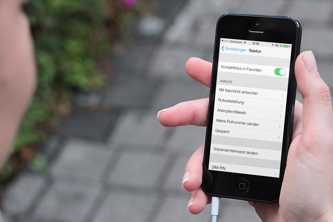 Lästige Anrufer in iOS 7 unterdrücken
